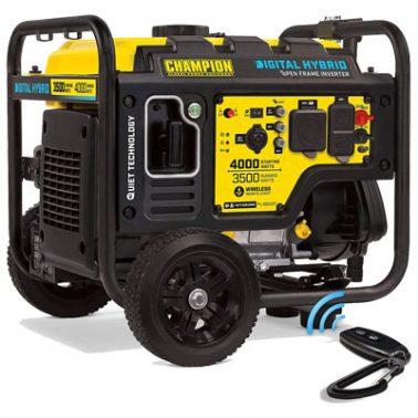 Champion 3500-Watt Generator for RV Air Conditioner