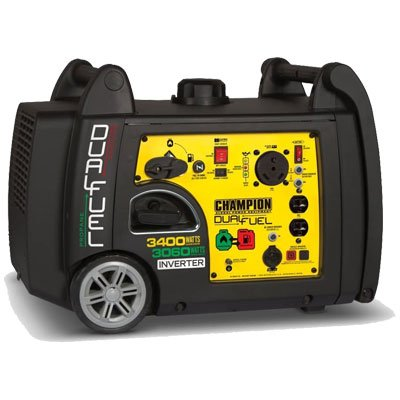 Champion 3400 Dual Fuel Inverter Generator