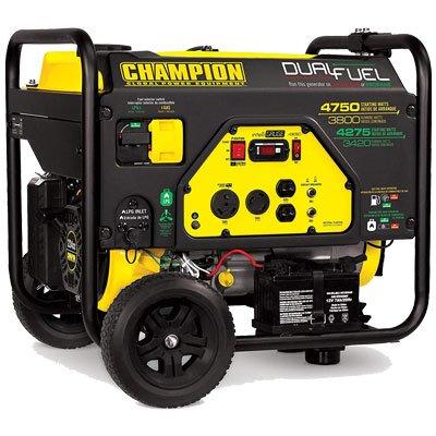 Champion 3800 Dual Fuel Generator