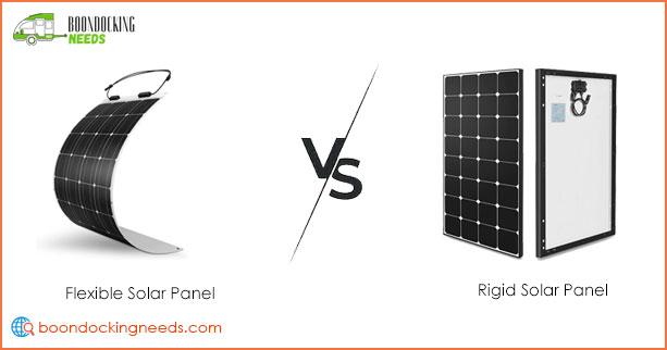Flexible vs Rigid Solar Panels