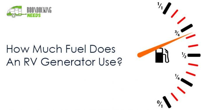 how much fuel does an rv generator use? (portable & onboard)