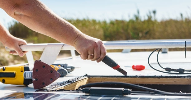 How to Install RV Solar Panels