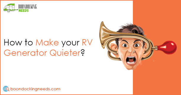 How to make your RV Generator Quieter