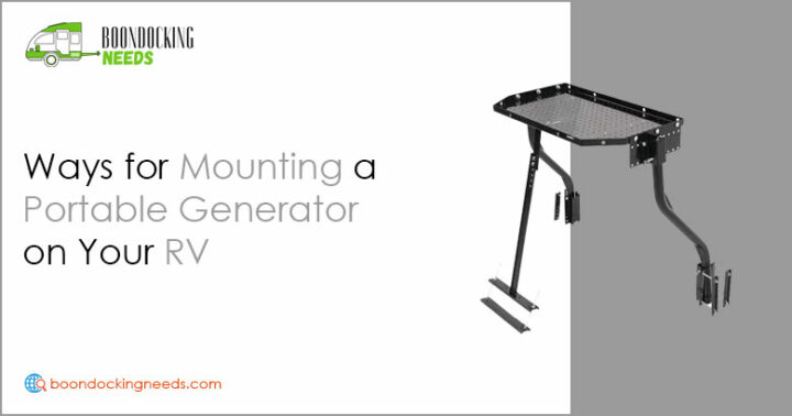 Mounting a Portable Generator on Your RV