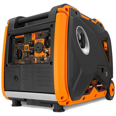 WEN DF400i Dual Fuel RV-Ready Portable Generator